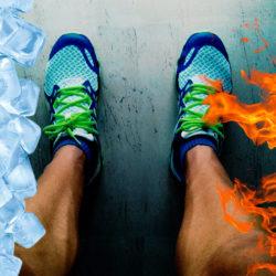 frio calor lesiones centro clinico del pie