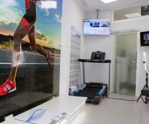 sala biomecanica centro clinico del pie getafe